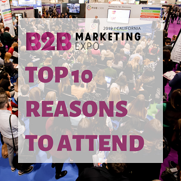 B2B Marketing Expo California USA blog article